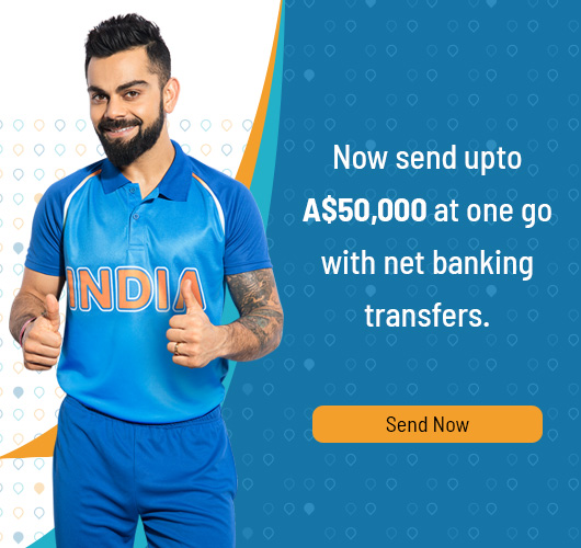 Send Money To India From Australia